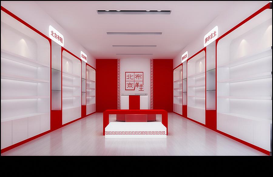 鞋柜店装修效果图
